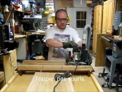 Comment d gauchir et planer une grande planche la toupie - Planche de bois pour dressing ...