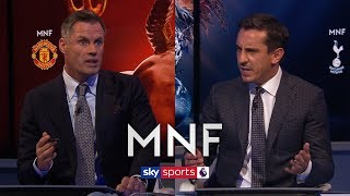 Carragher and Neville debate 'negative' vs 'progressive' tactics against big teams | MNF