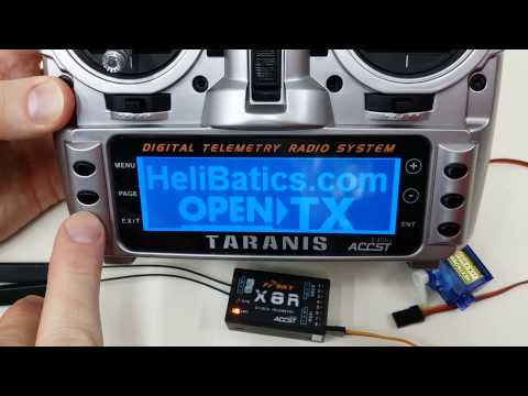 How to bind FrSky X8R receiver to Taranis X9D transmitter in D16 mode