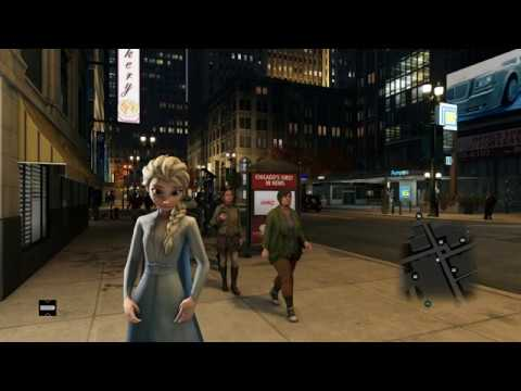 Into The Unknown But Elsa Is In Chicago. [Watch_Dogs Mod]