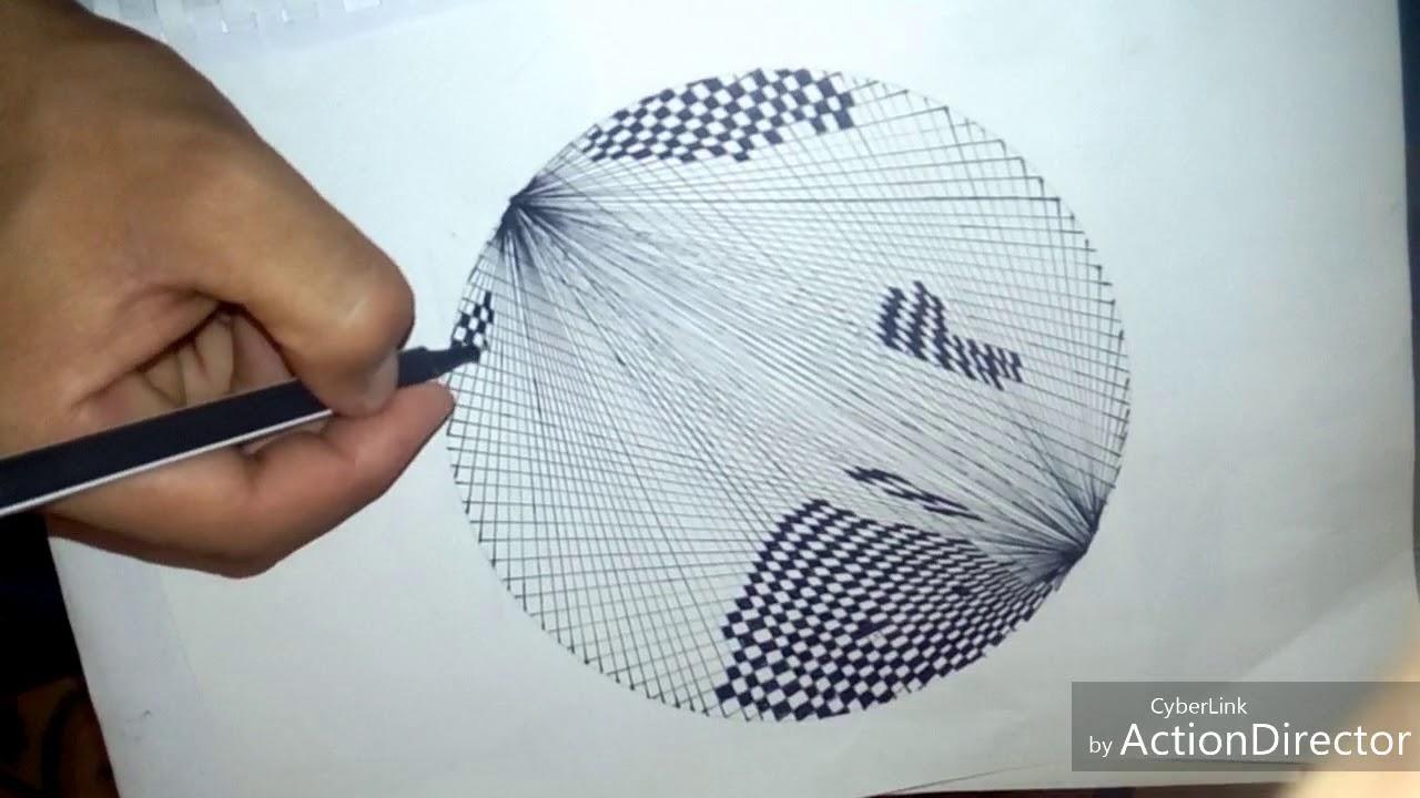 رسم اشكال هندسية غاية في الروعة Youtube