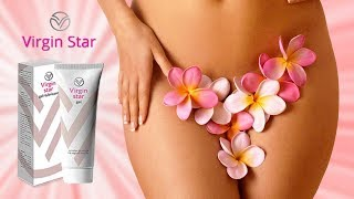 Virgin Star - Натуральный крем гель для сокращения мышц влагалища