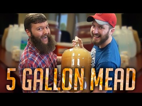 5 Gallon Mead