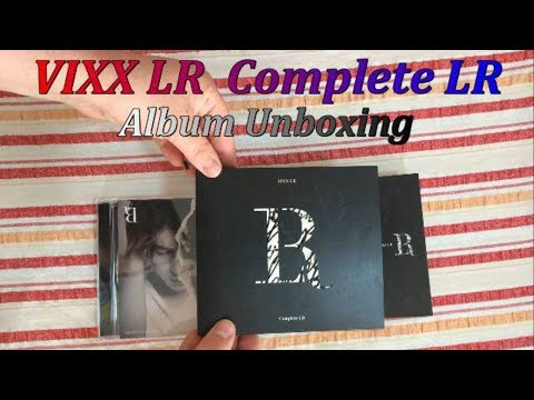 VIXX LR Complete LR Album unboxing