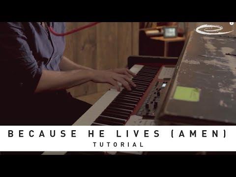 MATT MAHER - Because He Lives (Amen): Tutorial