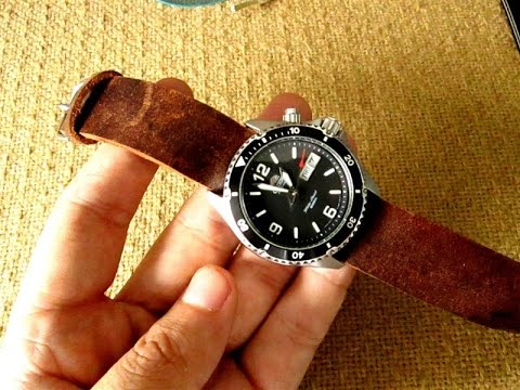 how i make leather watch strap diy youtube
