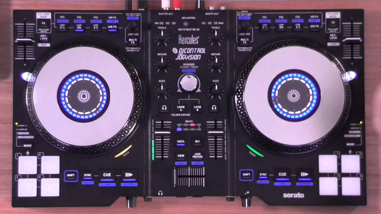 HERCULES JOGVISION DJ CONTROLLER