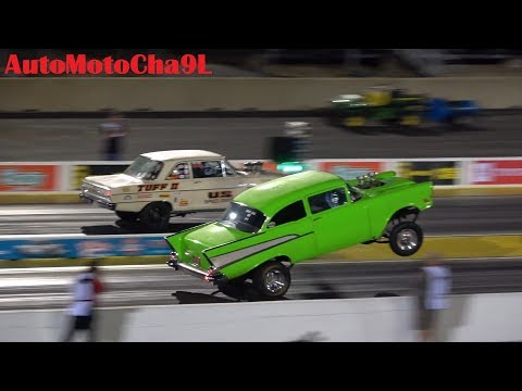 GASSERS RETURN DRAG RACING TIME MACHINE NATIONALS OLD SCHOOL