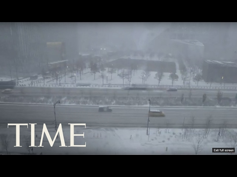 New York - Winter Storm Niko Hits The Northeast | TIME
