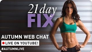 Beachbody Coach Info Chat with 21 day Fix creator Autumn Calabrese
