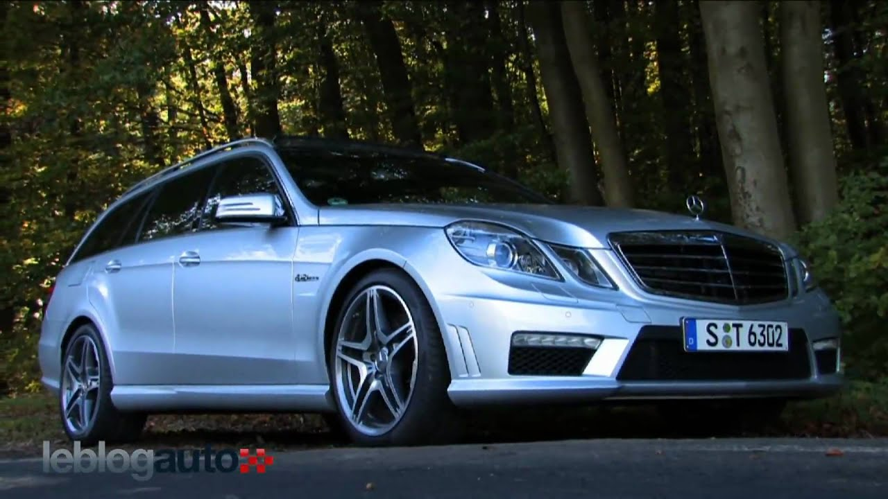essai mercedes classe e amg break test 2010 youtube. Black Bedroom Furniture Sets. Home Design Ideas