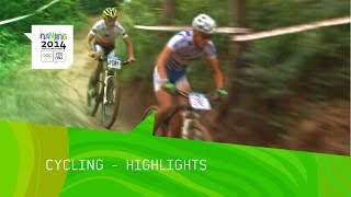 Czech Republic Lead In Cross Country Mountain Biking - Highlights | Nanjing 2014 Youth Olympic Games
