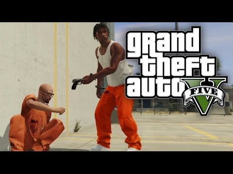 GTA 5 Online HEISTS - The Prison Break Heist (Part 3) - FINA