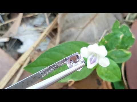 2.95ct Natural Rose de France Amethyst.