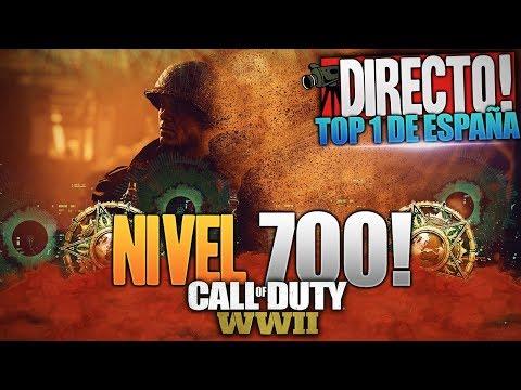 NIVEL 700 !!! | TOP 1 DE ESPAÑA | CALL OF DUTY: WW2