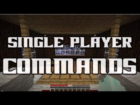 Обзор мода Single Player Commands 1.6.2