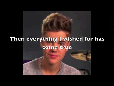 The Only Thing I Ever Get for Christmas. By Justin Bieber with  Lyrics