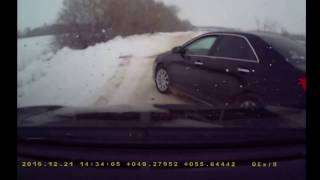 Под Казанью столкнулись три машины