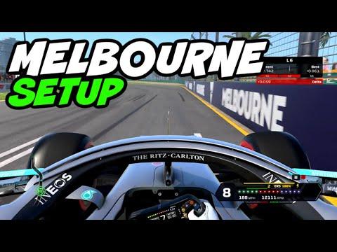 F1 2020 MELBOURNE HOTLAP + SETUP (1:19.097)