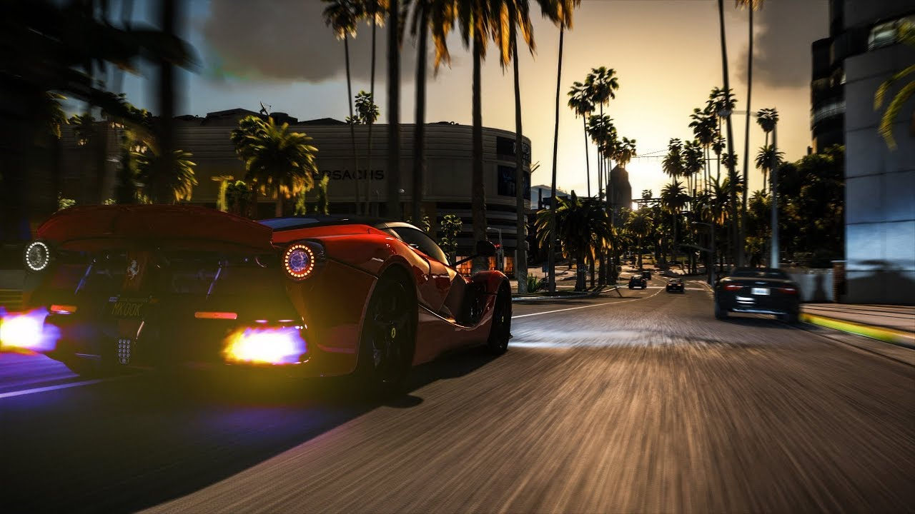 (6K Subs) Special - GTA V Remastered 4K EVE Cinematic | NaturalVision  Remastered