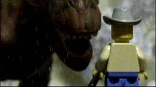 LEGO Jurassic Park - Movie In a Moment