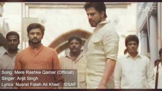 Mere Rashke Qamar - RAEES 'VIDEO SONG - Shah Rukh Khan, Mahira Kham.mp4