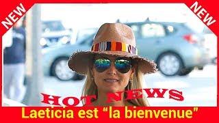 """Laeticia est """"la bienvenue"""" : pourquoi sa présence à une expo sur Johnny est attendue"""
