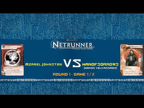 Netrunner Greek Nationals 2015 - Round 1 / Game 1 (natural audio)
