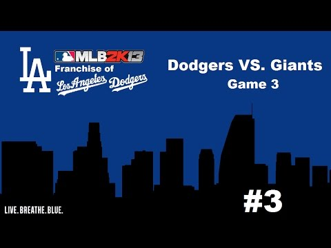 Let's Play - MLB 2K13: Franchise of the Los Angeles Dodgers - Why Offense? (Part 3)