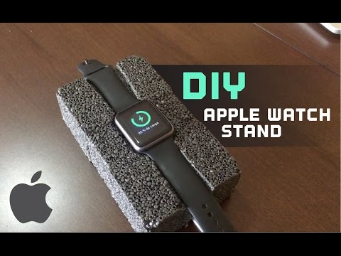 Easy and cheap DIY Apple Watch Stand