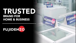 Entrep TV featuring Fujidenzo's line of Home and Commercial Appliances