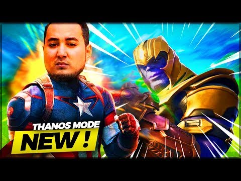 UN 1VS1 EPIC CONTRE THANOS SUR FORTNITE !!!