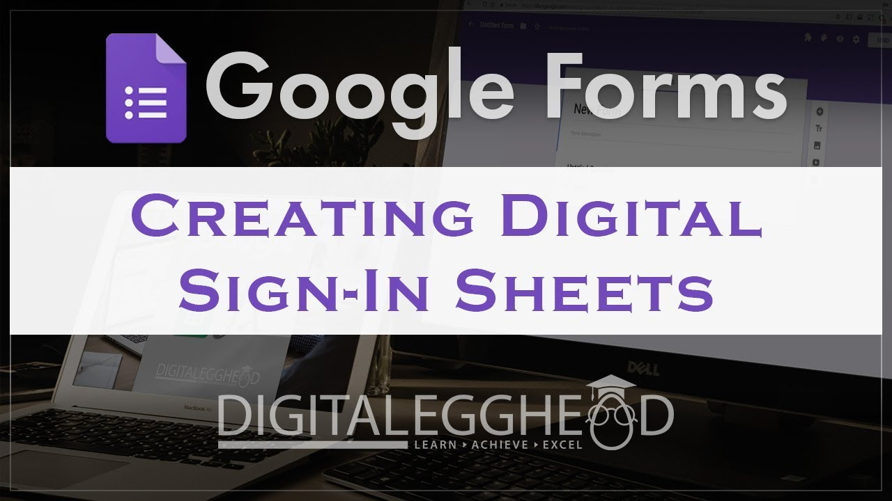 Google Forms Tips Making A Digital Sign In Sheet Youtube