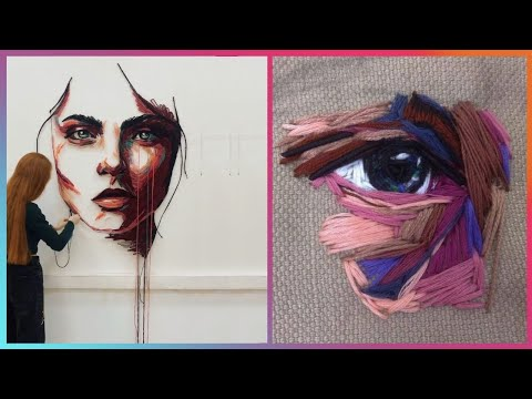 Hand Embroidery Artists That Are At Another Level   Masters of Thread