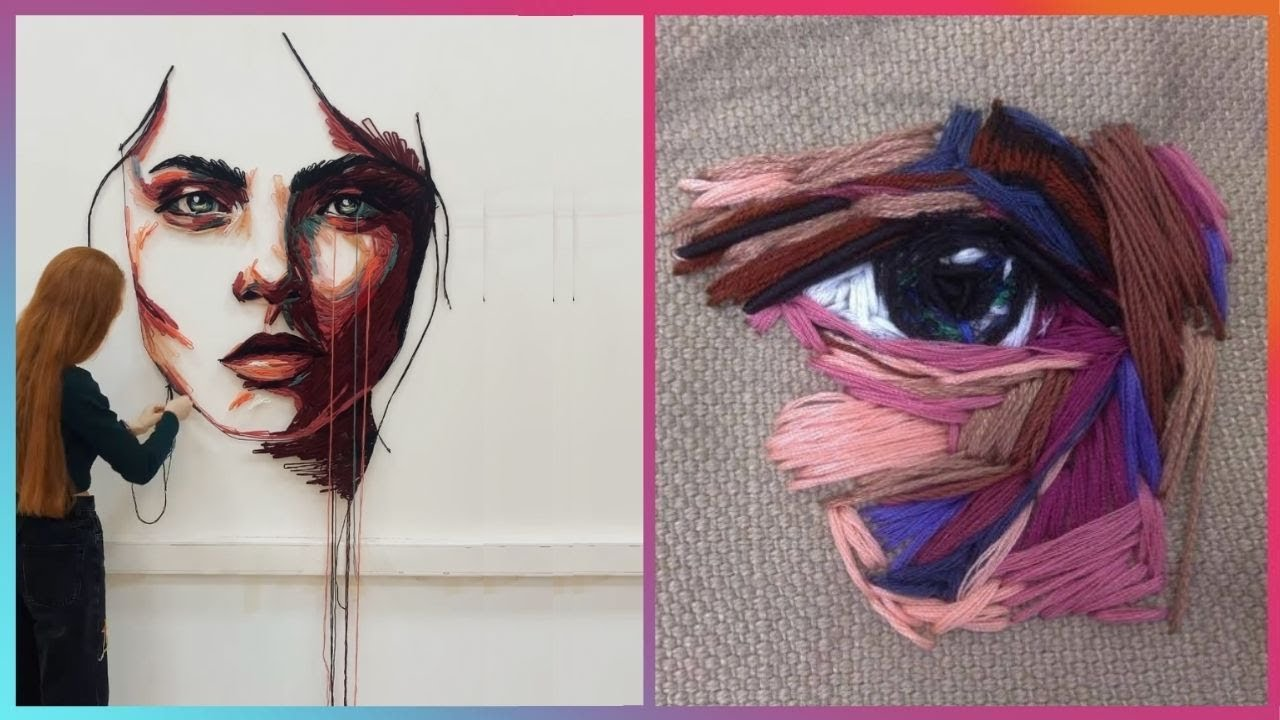 Hand Embroidery Artists That Are At Another Level | Masters of Thread