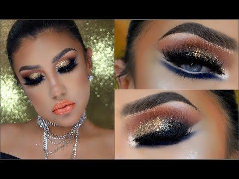 🌟Maquillaje Dramatico Medio Oriente / 🌛Middle East makeup tutorial ماكياج | auroramakeup