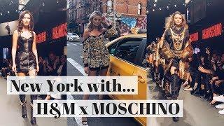 New York Vlog: H&M x Moschino Fashion Show