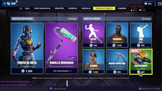 THE *NEW FORTNITE STORE TODAY DECEMBER 8 *NEW SKIN* ROUTE POINT WITH REACTIVE BACKPACK