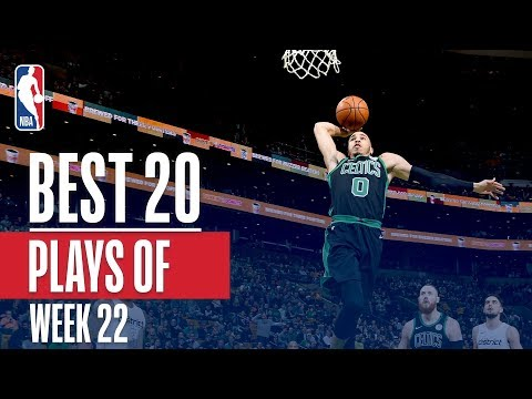 Best 20 Plays From Week 22 of the NBA Season (LeBron, Lonzo, Jayson Tatum and More!)