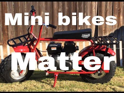 coleman ct200u mini bike build