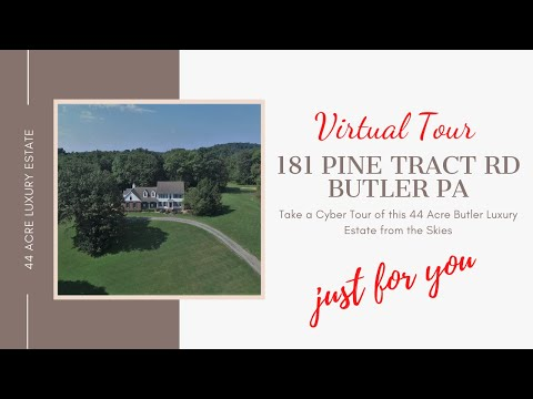 181 Pine Tract Road Butler Pa Luxury 4 Bedroom Home Overlooking 44 Acres, 5 Stall Horse Barn