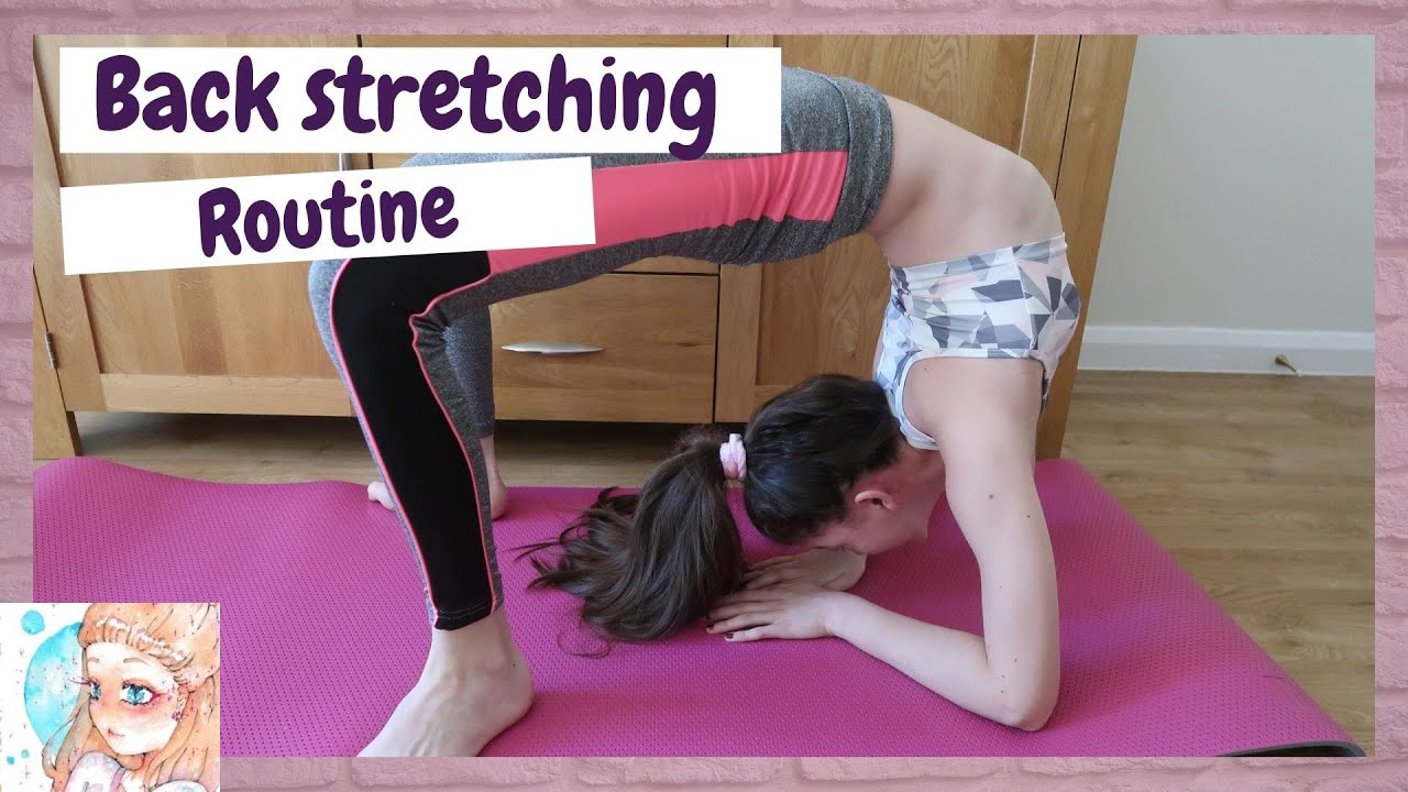 Beginner back stretching routine | Stretching for flexibility