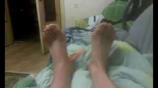 Перелом голеностопа,голени,ноги. 2 ой день после снятия гипса(, 2015-05-14T22:51:22.000Z)