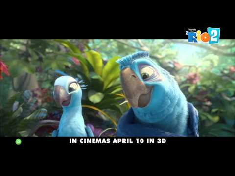 RIO 2 International Trailer (Rated G) April 10th in 3D