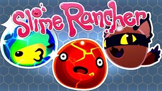 ALL SLIMES ON THE RANCH PART 1 - Slime Rancher 1.0.1 Release Gameplay