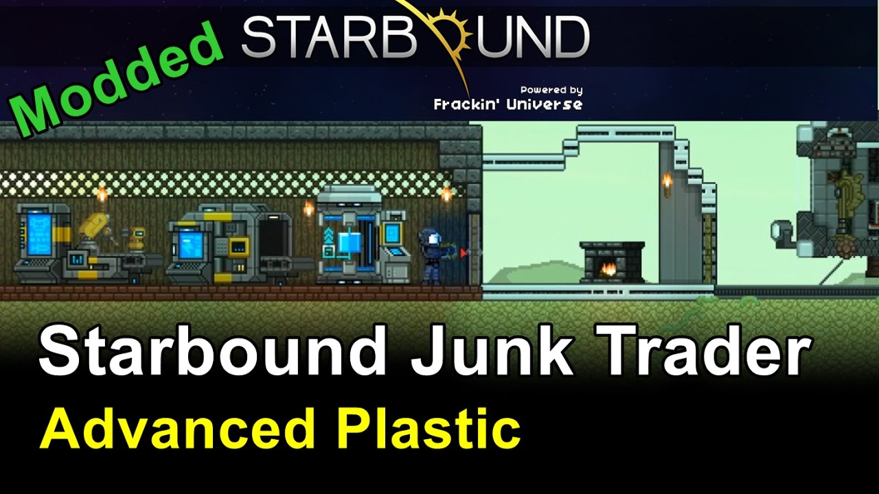 Advanced Plastic & Armory - Starbound: Frackin' Universe (Ep 5)