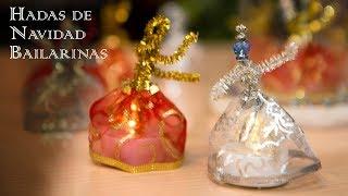 Decoracion Hadas de Navidad Bailarinas Exclusivas Facilisimas