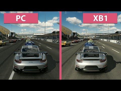 Forza Motorsport 7 – PC vs. Xbox One Graphics Comparison Demo
