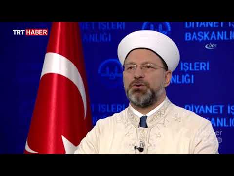 Diyanet İşleri Başkanı Ali Erbaş'tan Regaib Kandili mesajı