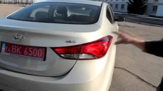 Тест драйв Hyundai Elantra смотреть